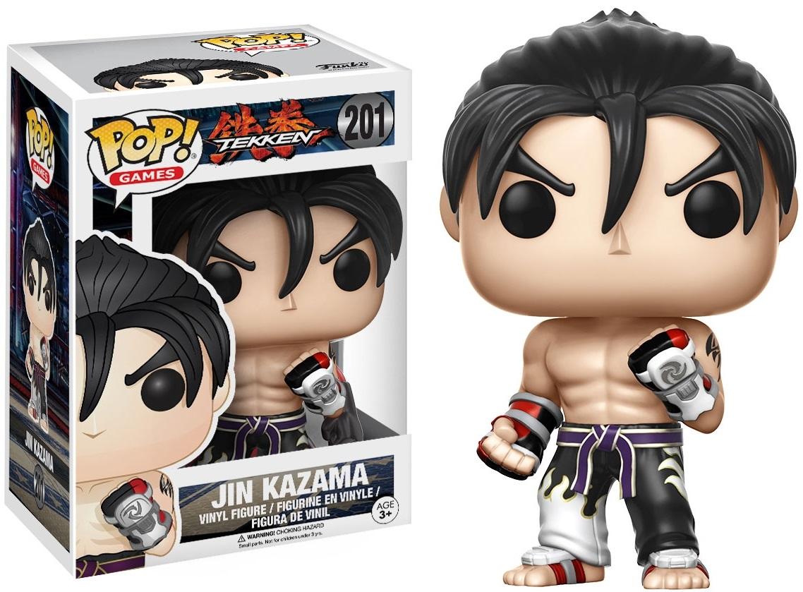 Фигурка Funko POP Games Tekken: Jin Kazama B&amp;W (9,5 см)Фигурка Funko POP Games Tekken: Jin Kazama B&amp;amp;W воплощает собой Дзина Кадзаму из компьютерной видеоигры «Tekken».<br>