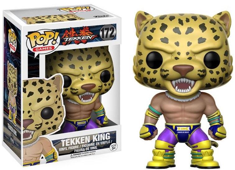 Фигурка Funko POP Games Tekken: King (9,5 см)Фигурка Funko POP Games Tekken: King воплощает собой Кинга из компьютерной видеоигры «Tekken».<br>
