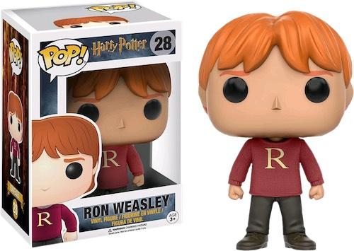 Фигурка Funko POP Harry Potter: Ron Weasley (Sweater) (Exc) (9,5 см)Фигурка Funko POP Harry Potter: Ron Weasley (Sweater) (Exc) воплощает собой Рона Уизли из культовой серии фильмов о юном волшебнике «Гарри Поттер».<br>