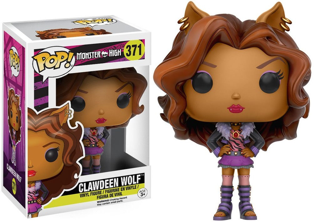 Фигурка Funko POP Monster High: Clawdeen Wolf (9,5 см) funko pop vinyl фигурка monster high cleo de nile