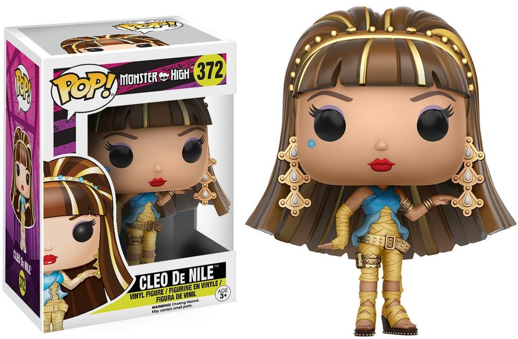 Фигурка Funko POP Monster High: Cleo De Nile (9,5 см) monster high фигурка monster minis 1шт