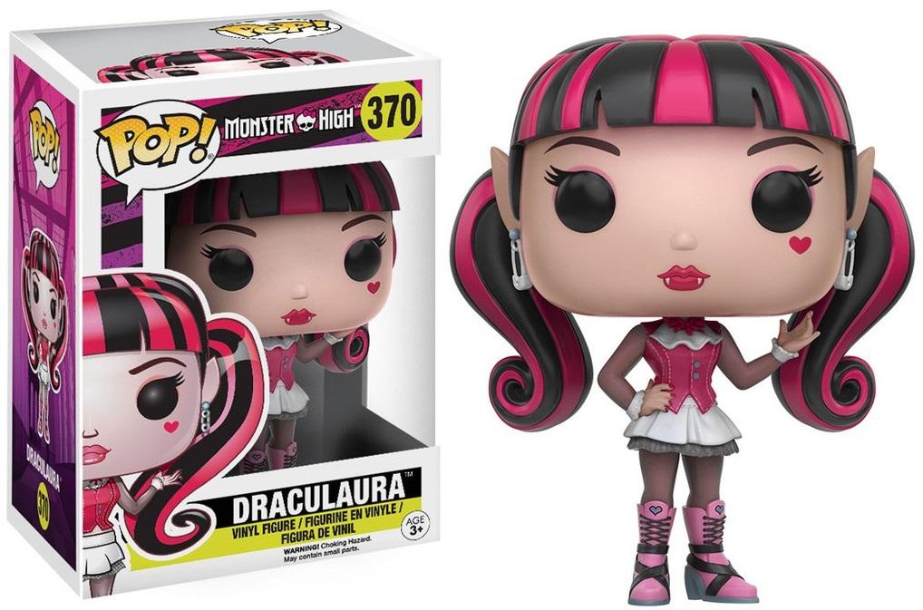 Фигурка Funko POP Monster High: Draculaura (9,5 см)Фигурка Funko POP Monster High: Draculaura воплощает собой Дракулауру из мультьфильма «Школа Монстер Хай». Это американская серия фэшн-кукол, созданная Гарретом Сэндером.<br>