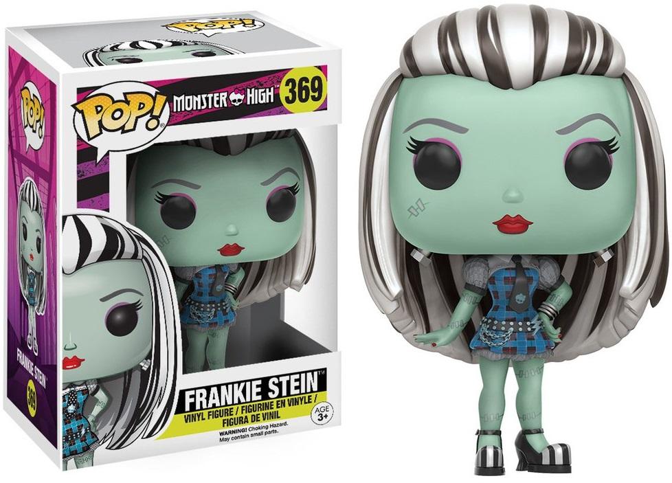 Фигурка Funko POP Monster High: Frankie Stein (9,5 см)Фигурка Funko POP Monster High: Frankie Stein воплощает собой Фрэнки Штейн из мультьфильма «Школа Монстер Хай». Это американская серия фэшн-кукол, созданная Гарретом Сэндером.<br>
