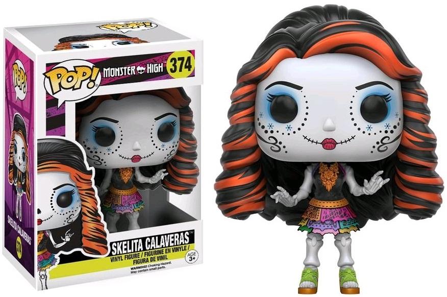 Фигурка Funko POP Monster High: Skelita Calaveras (9,5 см)Фигурка Funko POP Monster High: Skelita Calaveras воплощает собой Скелету Калаверас из мультьфильма «Школа Монстер Хай». Это американская серия фэшн-кукол, созданная Гарретом Сэндером.<br>
