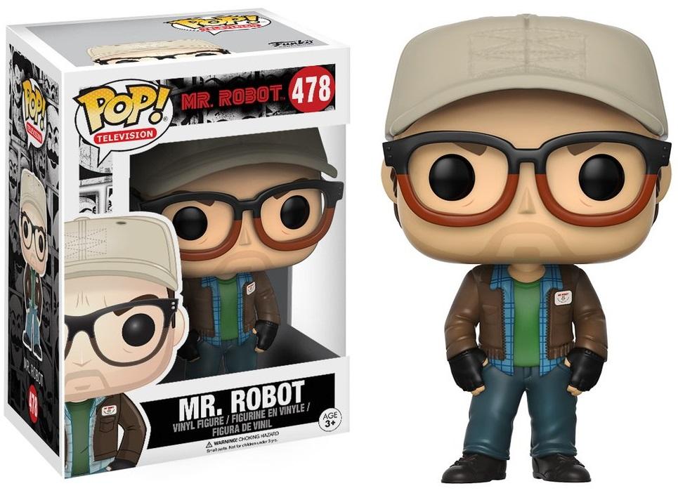 Фигурка Funko POP Television Mr. Robot: Mr. Robot (9,5 см)Фигурка Funko POP Television Mr. Robot: Mr. Robot воплощает собой одного из персонажей фильма «Мистер Робот» – мистера Робота.<br>