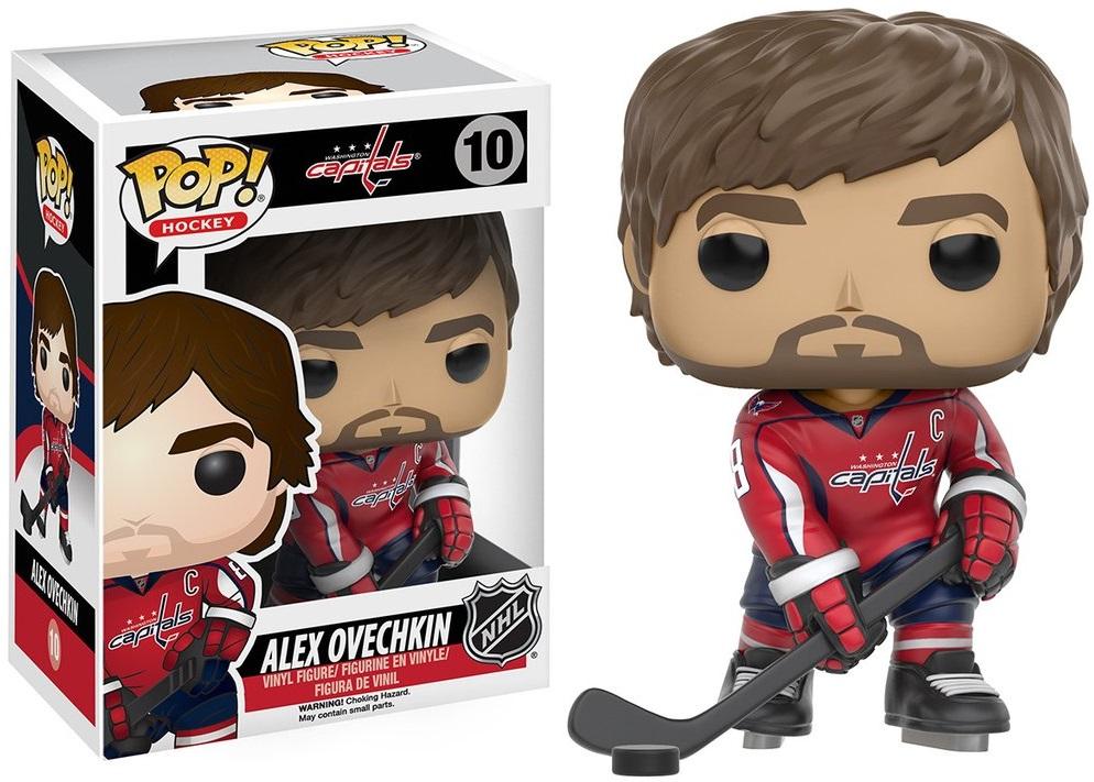 Фигурка Funko POP Hockey NHL: Alex Ovechkin (9,5 см)Фигурка Funko POP Hockey NHL: Alex Ovechkin воплощает собой Александра Овечкина в форме команды «Кэпиталз».<br>