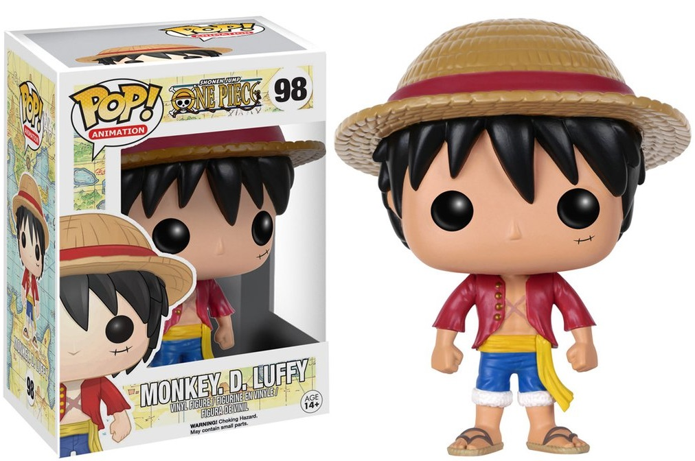 Фигурка Funko POP Animation One Piece: Monkey D. Luffy (9,5 см) фигурка funko pop animation one punch man genos 9 5 см