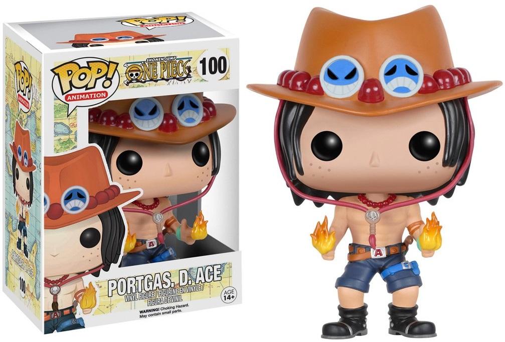 Фигурка Funko POP Animation One Piece: Portgas D. Ace (9,5 см)Фигурка Funko POP Animation One Piece: Portgas D. Ace воплощает собой персонажа Портгас Д. Эйс из аниме-сериала «One Piece».<br>
