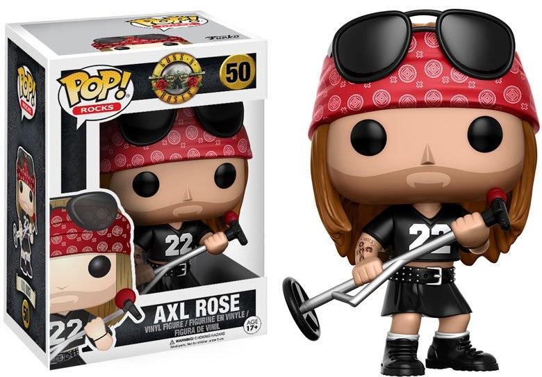 Фигурка Funko POP Rocks Guns N Roses: Axl Rose (9,5 см)Фигурка Funko POP Rocks Guns N Roses: Axl Rose воплощает собой Эксела Роуза из американской глэм-метал группы «Guns N' Roses».<br>