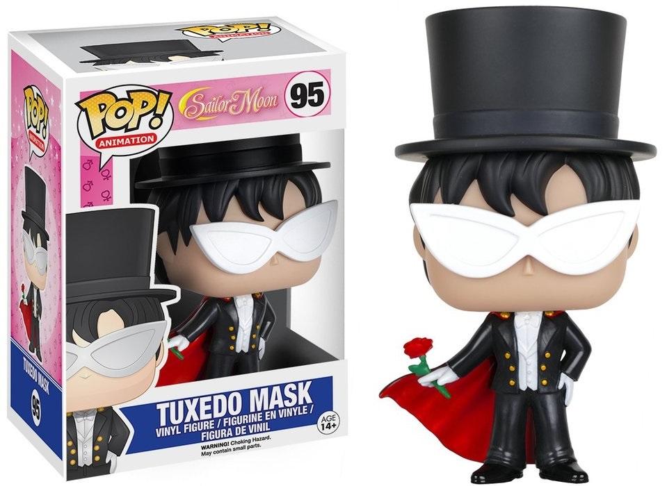 Фигурка Funko POP Animation Sailor Moon: Tuxedo Mask (9,5 см)Фигурка Funko POP Animation Sailor Moon: Tuxedo Mask воплощает собой Такседо Маска из аниме и манги «Сейлор Мун».<br>