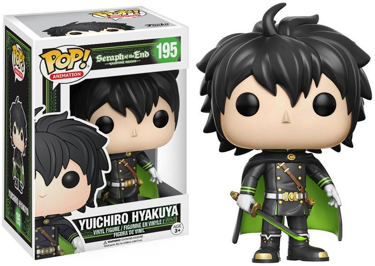 Фигурка Funko POP Animation Seraph of the End: Yuichiro Hyakuya (9,5 см) цена 2017