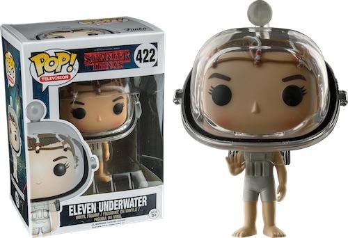 Фигурка Funko POP Television Stranger Things: Eleven Underwater (Exc) (9,5 см)Фигурка Funko POP Television Stranger Things: Eleven Underwater (Exc) воплощает собой одного из персонажей телесериала «Очень странные дела» – Оди.<br>
