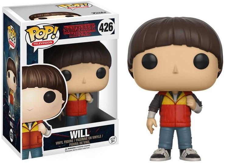 Фигурка Funko POP Television Stranger Things: Will (9,5 см)Фигурка Funko POP Television Stranger Things: Will воплощает собой одного из персонажей телесериала «Очень странные дела» – Уилла Байерса.<br>