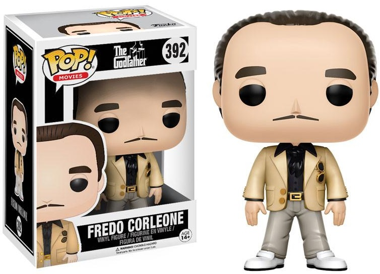 Фигурка Funko POP Movies The Godfather: Fredo Corleone (9,5 см) пиджаки corleone пиджак мужской