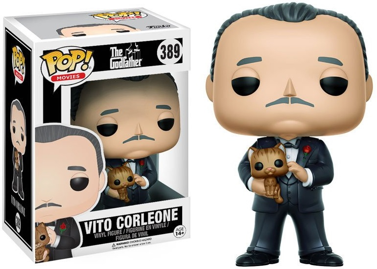 Фигурка Funko POP Movies The Godfather: Vito Corleone (9,5 см) пиджаки corleone пиджак мужской