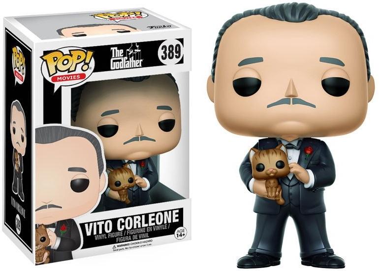 Фигурка Funko POP Movies The Godfather: Vito Corleone (9,5 см)Фигурка Funko POP Movies The Godfather: Vito Corleone воплощает собой одного из персонажей кинофильма «Крёстный отец» – Вито Корлеоне.<br>