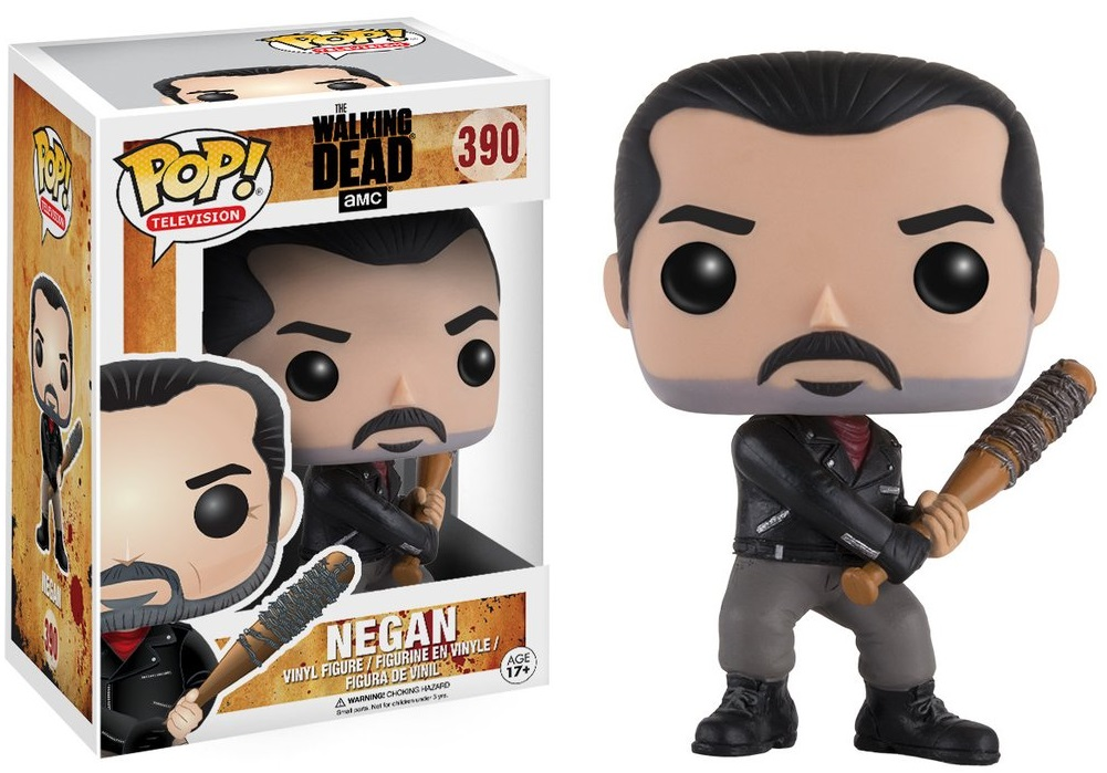 Фигурка Funko POP Television The Walking Dead: Negan (9,5 см) худи print bar the walking dead