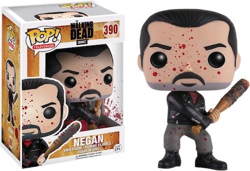 Фигурка Funko POP Television The Walking Dead: Negan Bloody (Exc) (9,5 см) худи print bar the walking dead