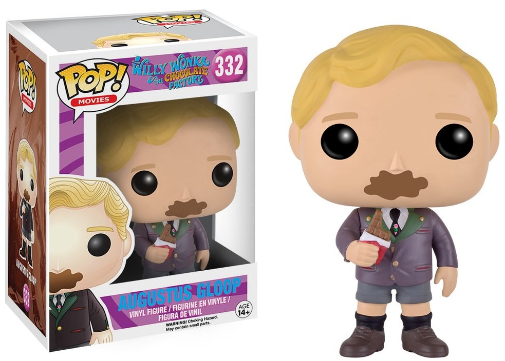 Фигурка Funko POP Movies Willy Wonka & The Chocolate Factory: Augustus Gloop (9,5 см) willy and the cloud