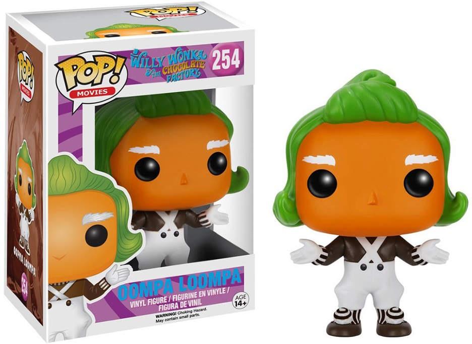 Фигурка Funko POP Movies Willy Wonka & The Chocolate Factory: Oompa Loompa (9,5 см) фигурка funko pop movies space jam swackhammer
