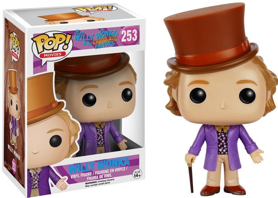 Фигурка Funko POP Movies Willy Wonka & The Chocolate Factory: Willy Wonka (9,5 см) willy the dreamer