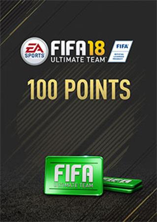 FIFA 18: Ultimate Team. FIFA Points 100 (Цифровая версия)Открывайте наборы с помощью FIFA 18: Ultimate Team. FIFA Points 100 и создайте свою Ultimate Team.<br>