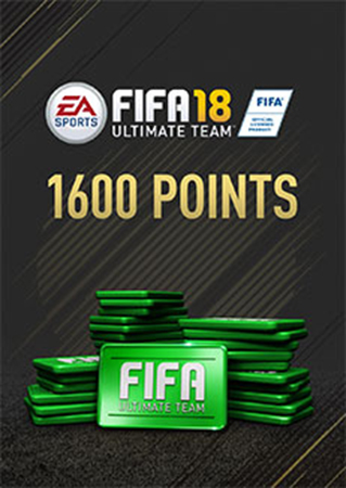 FIFA 18: Ultimate Team. FIFA Points 1600 (Цифровая версия) electronic arts fifa17 ult team fifa 2200