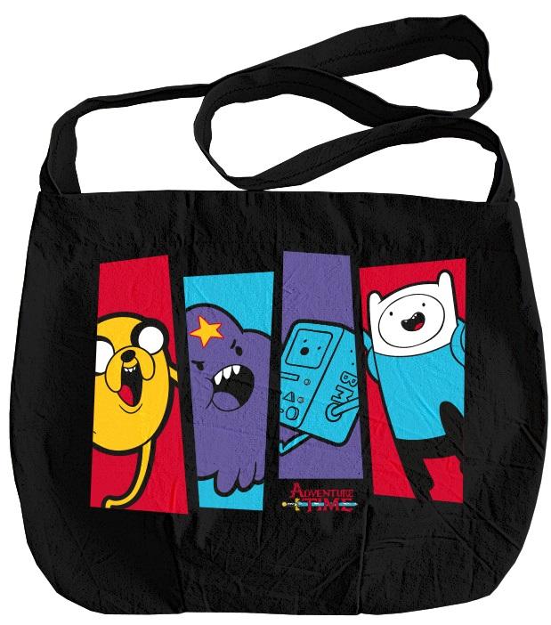 Сумка Adventure TimeОкунитесь в яркий мир Времени Приключений и выделитесь из толпы, ведь такой сумки нет ни у кого – абсолютно алгебраично!<br>