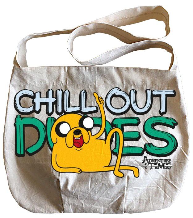 Сумка Adventure Time: ДжейкОкунитесь в яркий мир Времени Приключений и выделитесь из толпы, ведь такой сумки с изображением Джейка нет ни у кого – абсолютно алгебраично!<br>
