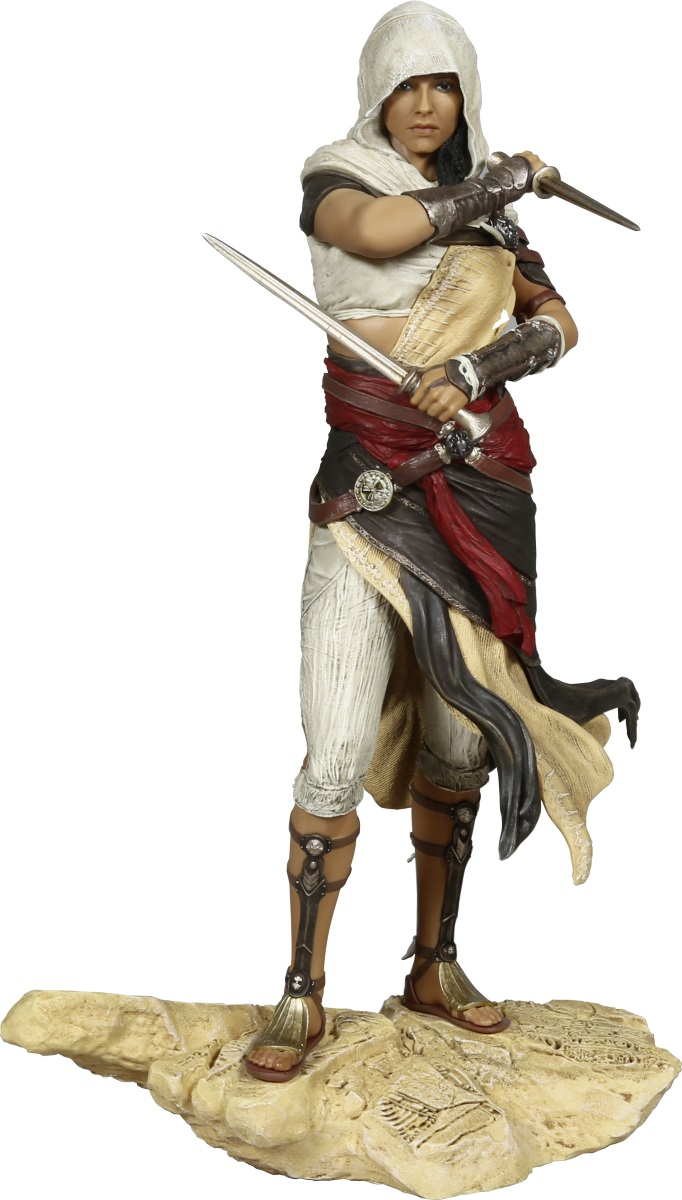 Коллекционная фигурка Assassins Creed Истоки (Origins): Aya (27 см)Ubicollectibles с удовольствием представляет вам новую фигурку Origins Aya, изображающую героиню Assassin's Creed Истоки – продолжения серии Assassin's Creed.<br>