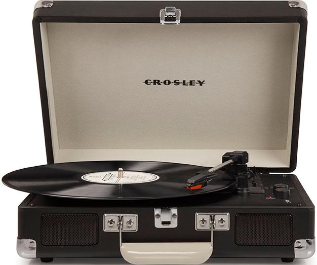 Виниловый проигрыватель Crosley Cruiser Deluxe Chalkboard (CRL8005D-CB) от 1С Интерес