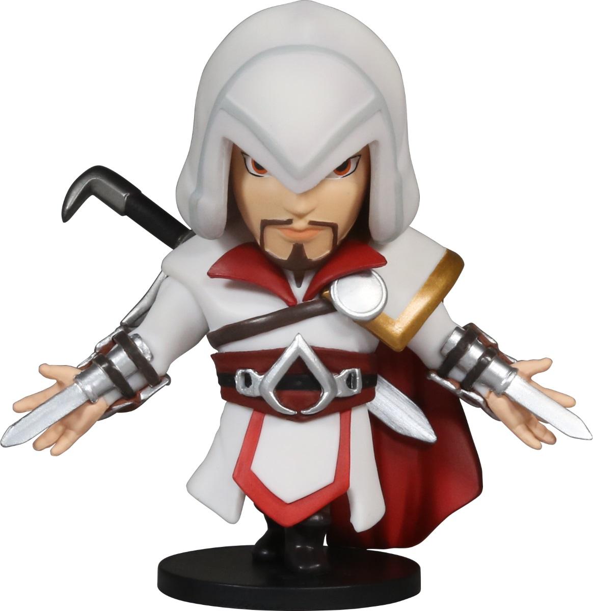 Коллекционная фигурка Assassins Creed Soul Hunters: Ezio Brotherhood (8 см)Закажите коллекционную фигурку Ezio Brotherhood, представляющую собой легендарного асассина Эцио Аудиторе из игры Assassin's Creed Братство крови, уже сейчас и вы получите 70 дополнительных бонусов на карту 1С Интерес.<br>