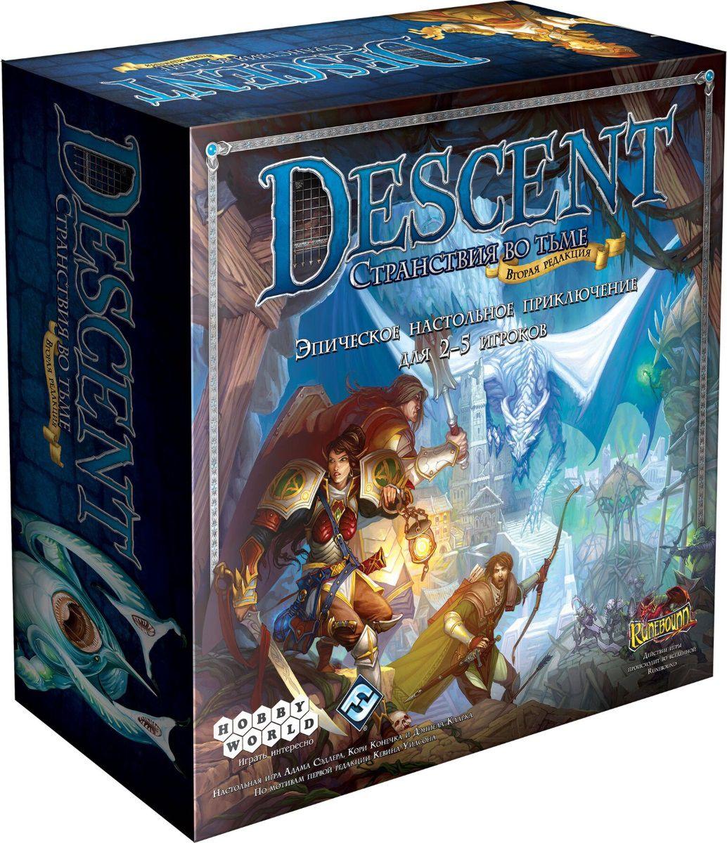 Настольная игра Descent: Странствия во Тьме покрывало циновка don descent b1350004 1 5 1 8