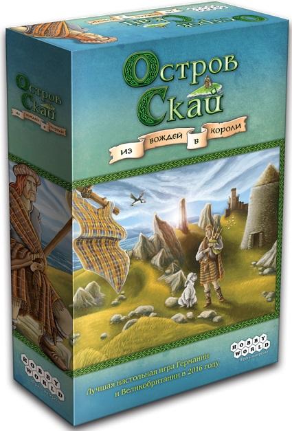 Настольная игра Остров СкайОстров Скай – европейская настольная игра о становлении шотландских кланов от авторов известного хита «Верхом на метле».<br>