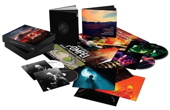 David Gilmour – Live At Pompeii (2 CD + 2 Blu-Ray) beibehang wallpaper pink beige purple diamond relief 3d wallpaper living room bedroom tv background diamond 3d wallpaper roll