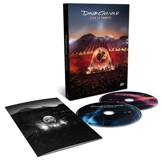 David Gilmour – Live At Pompeii (2 DVD)Live At Pompeii – концертный альбом великого гитариста Pink Floyd Дэвида Гилмора.<br>