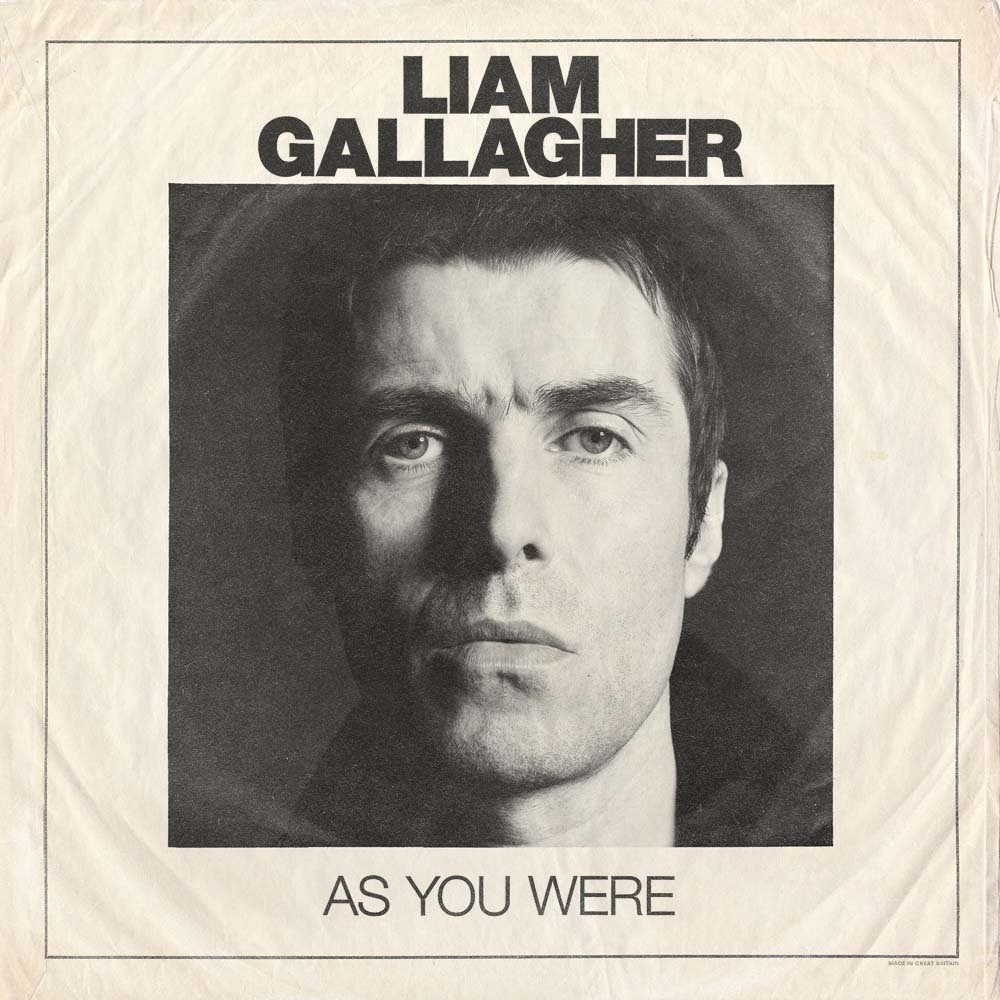 Liam Gallagher – As You Were. White Vinyl Limited Edition (LP) pink floyd – wish you were here limited edition lp
