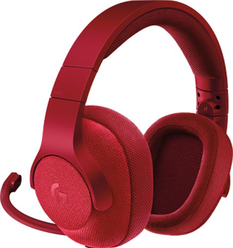 все цены на Гарнитура Logitech Headset G433 Gaming Retail проводная игровая Fire Red для PC онлайн