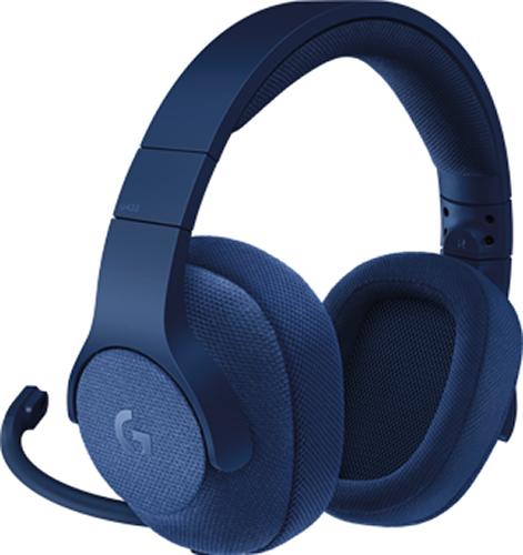 Гарнитура Logitech Headset G433 Gaming Retail проводная игровая Royal Blue для PCВсе, что вам нужно в игре &amp;ndash; это высококлассный звук. Для этого вполне достаточно подключить гарнитуру Logitech Headset G433. По максимуму наслаждайтесь игровым процессом и забудьте о тяжелых и громоздких конструкциях.<br>
