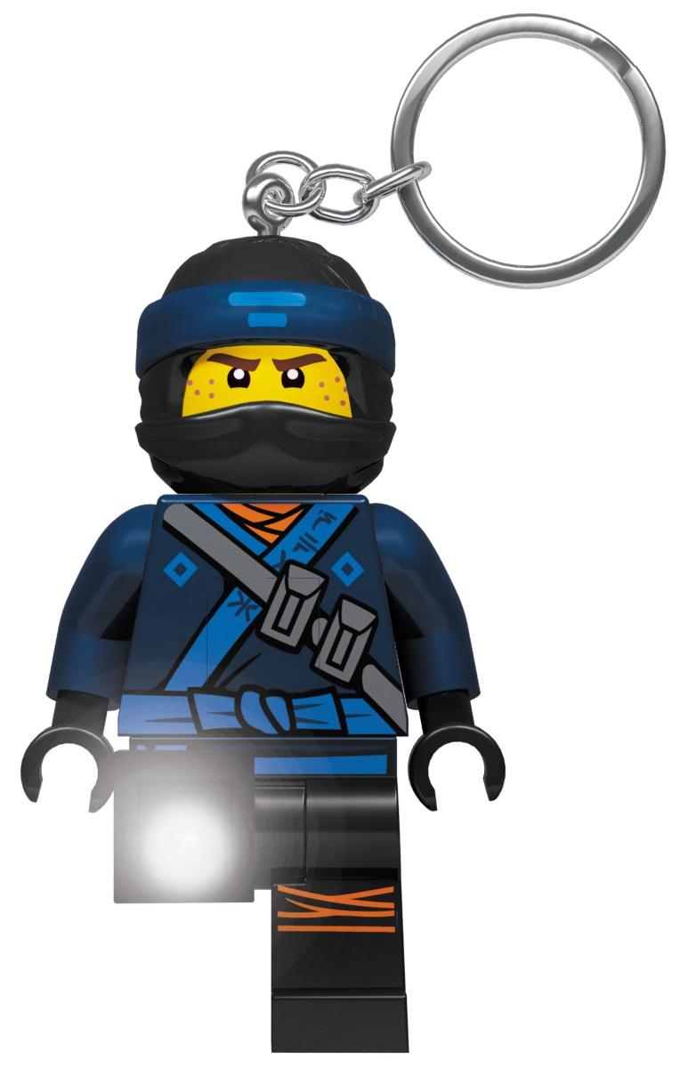 Брелок-фонарик LEGO Ninjago Movie: Jay lego ninjago 70737 битва механических титанов
