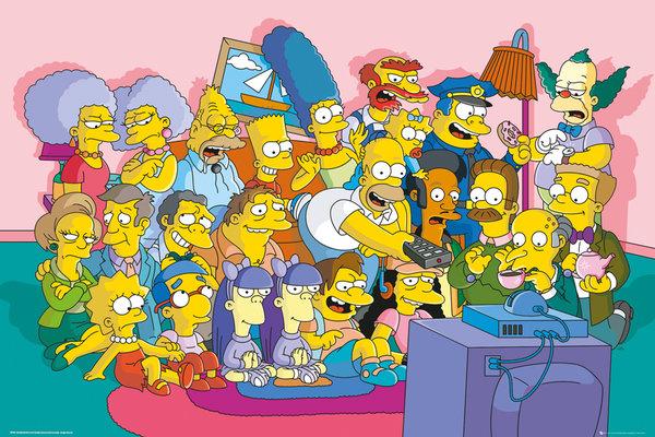 Плакат The Simpsons: Sofa CastПлакат The Simpsons: Sofa Cast создан по мотивам самого длинного мультсериала в истории американского телевидения, рассказывающего о самом веселом, дружном и беззаботном семействе в Спрингфилде.<br>