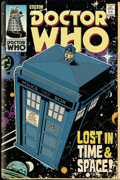 Плакат Doctor Who: Tardis ComicПлакат Doctor Who: Tardis Comic создан по мотивам культового британского научно-фантастического телесериала компании «Би-би-си» об инопланетном путешественнике во времени, известном как Доктор.<br>