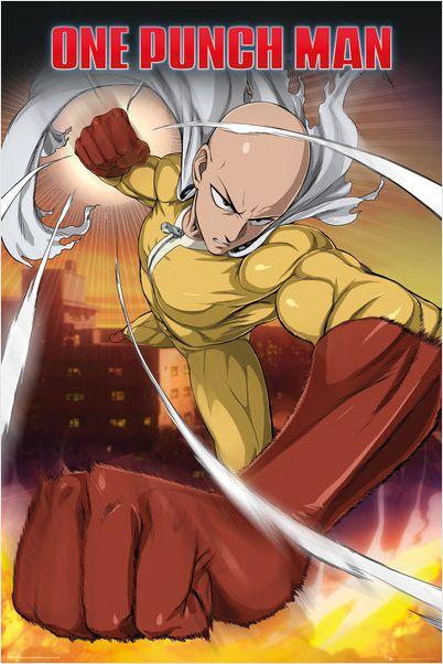 Плакат One Punch Man: SaitamaПлакат One Punch Man: Saitama создан по мотивам японской веб-манги, главный герой которой не размахивает мечом, не выкрикивает боевой клич и вообще не отличается ничем, особенно героическим.<br>