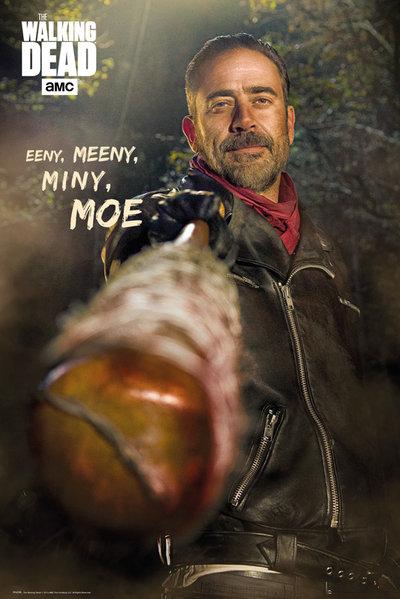 Плакат The Walking Dead: NeganПлакат The Walking Dead: Negan создан по мотивам американского постапокалиптического телесериала, основанного на одноименной серии комиксов, созданной Робертом Киркманом, Тони Муром и Чарли Адлардом.<br>