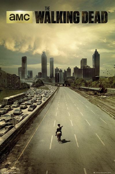Плакат The Walking Dead: Сity худи print bar the walking dead