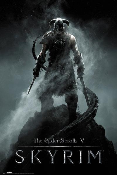 Плакат Skyrim: DragonbornПлакат Skyrim: Dragonborn создан по мотивам мультиплатформенной компьютерной ролевой игры с открытым миром.<br>