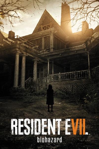 Плакат Resident Evil 7: Key ArtПлакат Resident Evil 7: Key Art создан по мотивам компьютерной игры в жанре survival horror, разработанной и выпущенной компанией Capcom.<br>