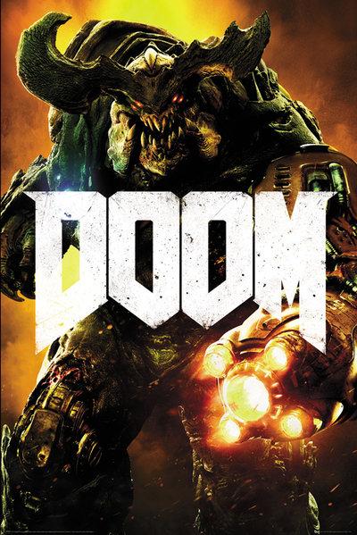 Плакат Doom: Cyber DemonПлакат Doom: Cyber Demon создан по мотивам компьютерной игры в жанре шутера от первого лица, разработанной и выпущенной компанией id Software в 1993 году.<br>