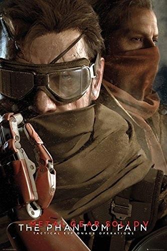 Плакат Metal Gear Solid V: The Phantom PainПлакат Metal Gear Solid V: The Phantom Pain создан по мотивам компьютерной игры компьютерной игры с открытым миром, действие которой происходит в 1984 году.<br>