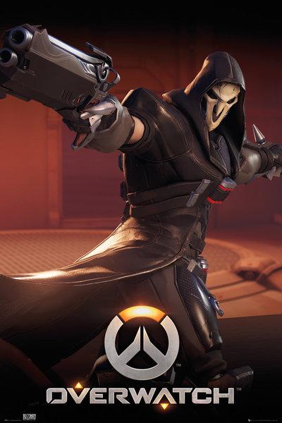 Плакат Overwatch: ReaperПлакат Overwatch: Reaper создан по мотивам компьютерной игры в жанре шутера от первого лица, разработанной компанией Blizzard Entertainment.<br>